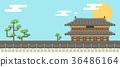 背景 韩国 样式 36486164