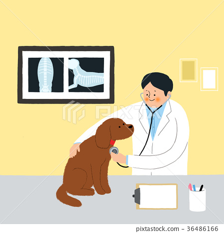 Living with a pet 010 - stock illustration 36486166