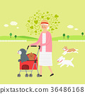 Living with a pet 011 - stock illustration 36486168