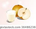 Fruit objects - Apple, tomato, chestnut, etc 003 36486236
