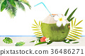 fruit and plant design, expressive of summer 001 36486271