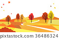 A beautiful autumn landscape 002 36486324