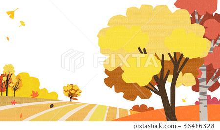 A beautiful autumn landscape 006 36486328