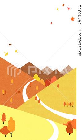 A beautiful autumn landscape 009 36486331
