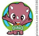 cartoon animals 009 36486386