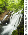 mineral waterfall, waterfall, sight-seeing area 36487121
