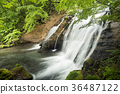mineral waterfall, waterfall, sight-seeing area 36487122
