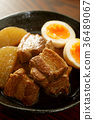 kakuni, stew of cubed pork, stewed 36489067
