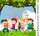 Happy children  36489118