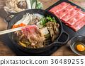 和牛 神户牛肉 寿喜烧 36489255