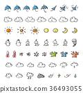 อากาศ,ไอคอน,เมฆ 36493055