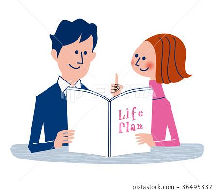 人生計劃 夫婦 一對 36495337
