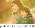 父母和小孩 親子 笑容 36496138