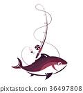 ตกปลา,เบ็ดตกปลา,ปลา 36497808