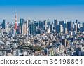tokyo, tokyo tower, City View 36498864