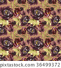 watercolor, pattern, seamless 36499372