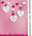 Valentines template for frame border,note 36499868