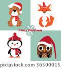 christmas penguin owl 36500015