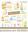 drink, menu, menus 36500663