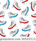 Sneaker shoe seamless pattern wallpaper background 36503513