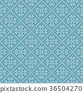 Traditional scandinavian pattern. Nordic ethnic 36504270