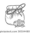 blueberry jam jar 36504480
