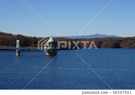 Sayama湖的入口塔 36507951