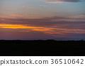 sunset in the desert 36510642