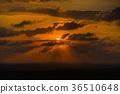 sunset in the desert 36510648