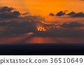 sunset in the desert 36510649