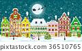 城镇 冬天 冬 36510765