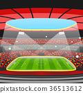 football soccer stadium 36513612