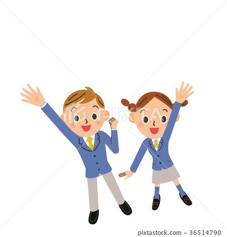 学生 男人和女人 男女 36514790