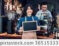 barista, blackboard, asia 36515333