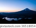 ภูเขาฟูจิ,ภูเขาไฟฟูจิ,พระอาทิตย์ตก 36518054