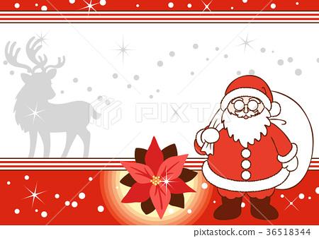 矢量 聖誕節期 聖誕時節 36518344