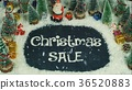Stop motion animation of Christmas Sale 36520883