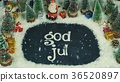 Stop motion animation of God Jul (Norwegian), in 36520897