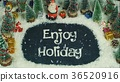 Stop motion animation of Enjoy Holiday 36520916