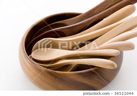 木匙子各種各樣的木碗 36521044