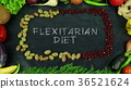 Flexitarian diet fruit stop motion 36521624