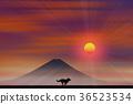 ภูเขาฟูจิ,ภูเขาไฟฟูจิ,ปีใหม่ 36523534