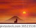 ภูเขาฟูจิ,ภูเขาไฟฟูจิ,ปีใหม่ 36523536