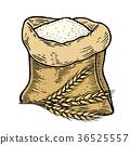 sack wheat flour 36525557