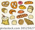 Bread vector set 36525627