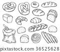 Bread vector set 36525628