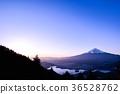 ภูเขาฟูจิ,ภูเขาไฟฟูจิ,พระอาทิตย์ตก 36528762