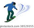 snowboard, snowboarding, snowboarder 36529355