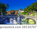 the outer garden of the imperial palace, bridge, bridges 36530767