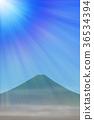 ภูเขาฟูจิ,ภูเขาไฟฟูจิ,แสงอาทิตย์ 36534394